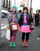 Pink Skirts, Vintage Clock Bag & Dr. Martens Boots