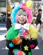 Cute Omocha Party Girls in Harajuku