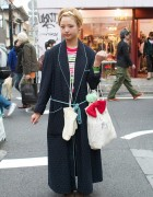 Bunka Fashion Student in Resale Dressing Gown