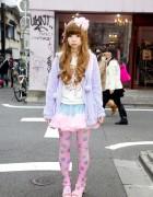 ManiaQ, Angelic Pretty & Nile Perch in Fairy Kei Colors