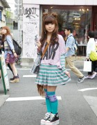 Candy Stripper & Max Star Converse Sneakers