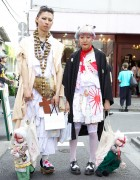 Traditional Japanese Inspired Harajuku Fashion & Handmade Dolls