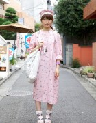 Bunka Fashion Student Pretty in Pink x Sweet Misaki Accessories