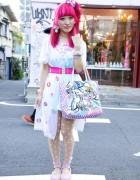 Kumamiki's Harajuku Style w/ Party Baby, 6%DOKIDOKI, Spank & Shojono Tomo