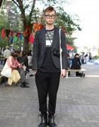 Givenchy, Lanvin, Kris Van Assche & F.E.A.R. on The Street in Tokyo