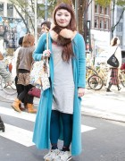 Wego's Yamancha Fur Collar with Theatre Products Top & Shoes
