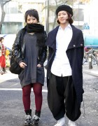 Diesel Dress & Dr. Martens vs. Comme des Carcons Pants & Beret
