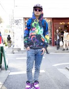 Snap Staffer Kyon's Cosmic Phenomenon Hoodie & ACV×VICIOUS EAST Hat