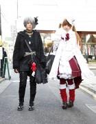 Gothic & Lolita Style Harajuku Girls w/ h.Naoto, Frill, Gramm & Yosuke