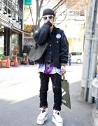 Guy's ACV x 4jigen Jacket, Phenomenon Pants & Air Jordan Remakes