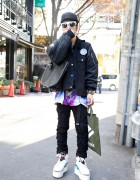 Guy's ACV x 4jigen Jacket, Phenomenon Pants & Air Jordan Remakes