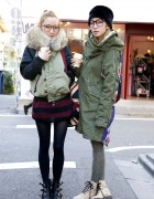 Ami & Aya of Jouetie on the Street in Harajuku
