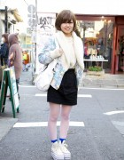 Platform Converse, Theatre Products, Topshop & Short Hairstyle in Harajuku