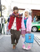 Kurebayashi & Ring Kato, Japanese Magazine Models in Harajuku