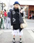 Dir en Grey Fan w/ Piercings & h.Naoto Fashion in Harajuku