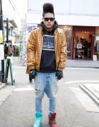 Harajuku Streetwear Designer in 4jigen, Swagger & Phenomenon