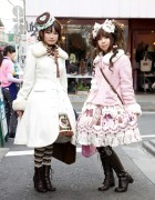 Harajuku Lolita Girls in Angelic Pretty, Baby The Stars Shine Bright & Mary Magdalen