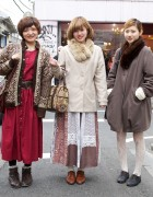 Stylish Harajuku Trio in Vintage & Resale Fashions
