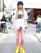 God Kyohei from Spinns Harajuku in SPX Platform Sneakers