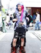 Broken Doll Maro w/ Boot Wigs & Handmade Fashion