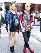 J-Pop Singers in Harajuku w/ Glad News, Galstar & Ghost of Harlem