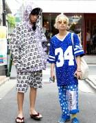 Guys' Jeremy Scott & Hiro Summer Wear w/ Geta Sandals