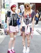 WEGO & New York Joe Pop Music Tops + Cute Legwear