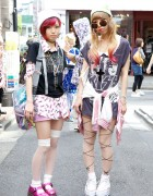 WEGO & New York Joe Pop Music Tops + Cute Legwear