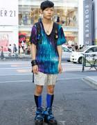 Dog Harajuku Platform Sneakers, Memento Backpack & Spikes