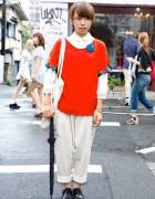 Tassels & Handmade Jewelry w/ Malaika Pants in Harajuku
