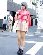 Japanese Chiptune Musician w/ Ryza & I Am I in Harajuku