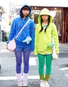Harajuku Girls x Sulley & Mike from Monsters, Inc.