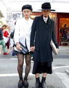 Stylish Harajuku Couple w/ Hats in Julius, Avan Trance & Limi Feu