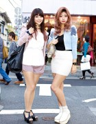 Tokyo Beauty School Students w/ Ombre Hair & Rocking Horse Shoes