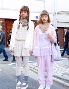 Harajuku Girls in Resale & Handmade Items w/ Unicorn Accessories