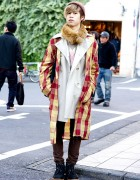 Layered Coats w/ George Cox Shoes & Resale Accessories