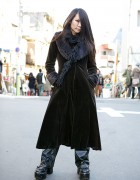 Gothic Harajuku Fashion w/ Black Peace Now, Yellow House & Yo!Yo!Yosuke Boots