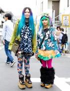 Colorful Harajuku Fashion, w/ Cayhane, Jammin, Nude N Rude & Vivienne Westwood