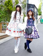 Baby The Stars Shine Bright & Alice and the Pirates Lolita Fashion in Harajuku