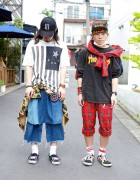 Harajuku Guys in Undercover, SASQUATCHfabrix, Juvenile Hall Rollcall & Alice Black