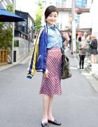 Japanese Street Fashion Photographer Rei Shito in Harajuku