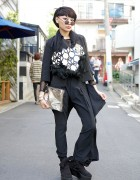 Stylist Judy Chou in Harajuku w/ re:shop, Harcoza & Tokyo Bopper