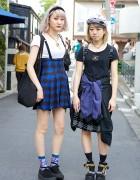 Suspender Skirt & Tokyo Bopper vs. Platform Sandals & Ungaro in Harajuku