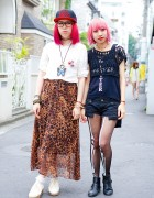 Pink Haired Harajuku Girls w/ Moussy, Avantgarde & Homeless HK