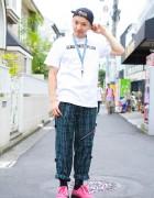 Style Icon Tokyo & Vintage Plaid Pants w/ Swagger & Phenomenon