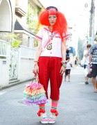 Neb aaran Do Sailor Top w/ Toys, See Through Sneakers & Rainbow Accessories