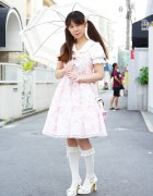 Baby the Stars Shine Bright Lolita Dress & Innocent World in Harajuku