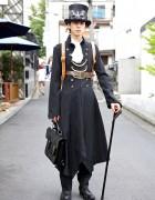 Japanese Steampunk Fashion w/ Atelier Boz & Garuktone in Harajuku