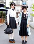 Harajuku Girls in Round Sunglasses, Tsumori Chisato & Vivienne Westwood