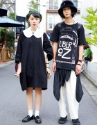 OTOE Dress & Panbu vs Liber Oz & KTZ Harajuku Street Styles